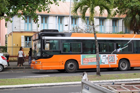 publicité bus guadeloupe