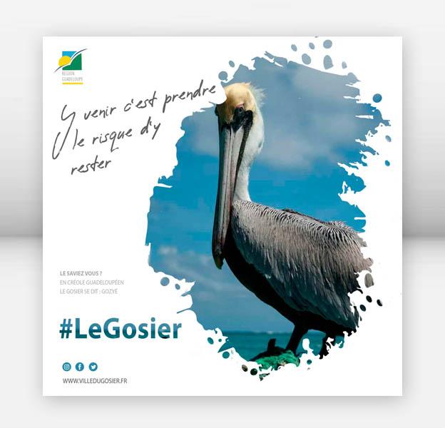 campagnes publicitaire guadeloupe, création graphique guadeloupe