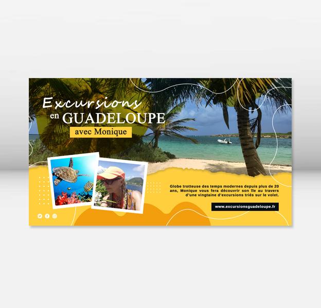 création flyer guadeloupe, conception graphique