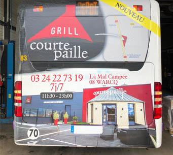 publicité bus guadeloupe, agence de publicité guadeloupe